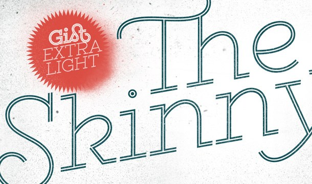 Gist Extra Light Font