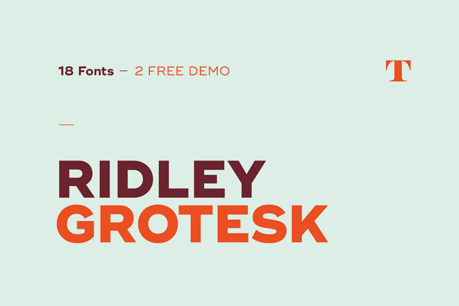 Ridley-Grotesk-Typeface