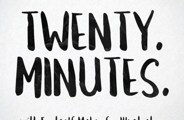 Twenty Minuntes Free Brush Font