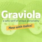 Graviola Free Font Family
