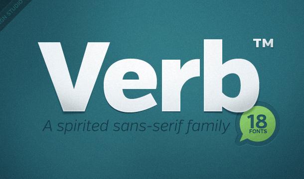 Verb Font Free