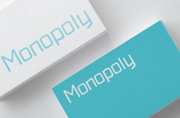 Monopoly Free Font