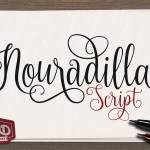 Nouradilla Free Script Font