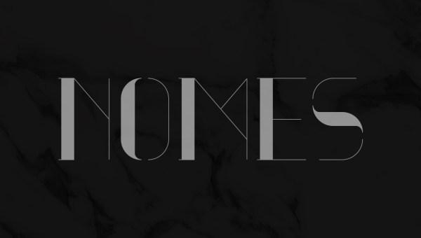 Nomes Free Serif Typeface