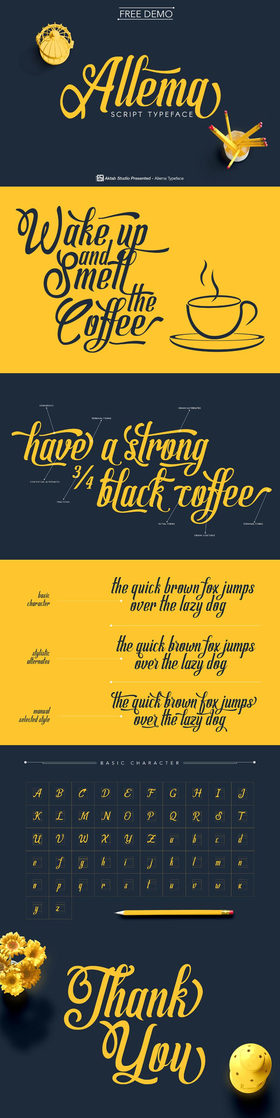 Allema typeface