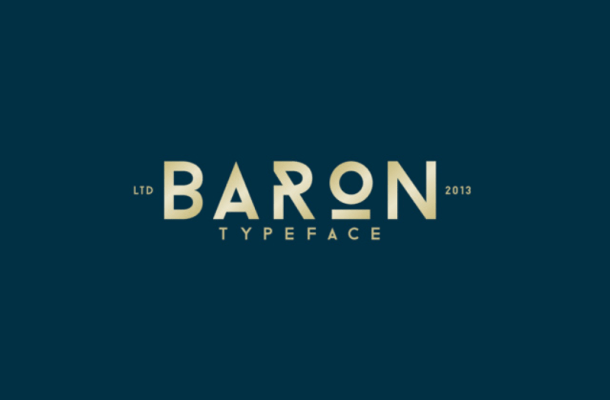 Baron Free Font Family