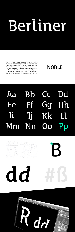 Berliner Free Typeface