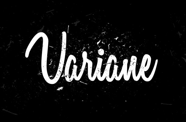 Variane Free Script Font