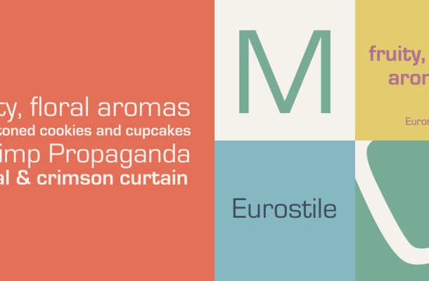 Eurostile Font Family & Free Alternatives