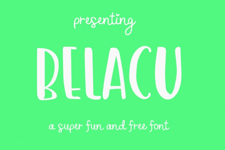 FREE Belacu Font