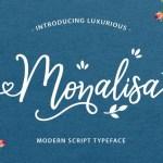 Monalisa Free Script Font