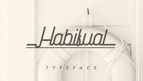 Habitual Free Handwritten Typeface
