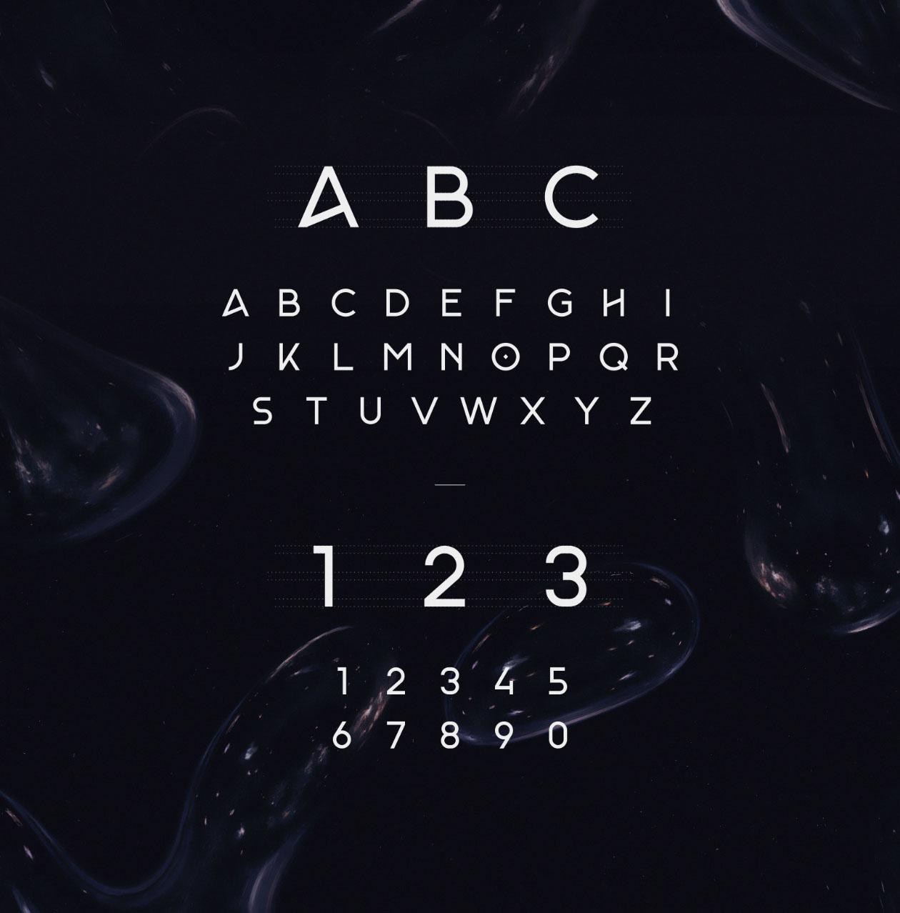 Monade-Font-Letters
