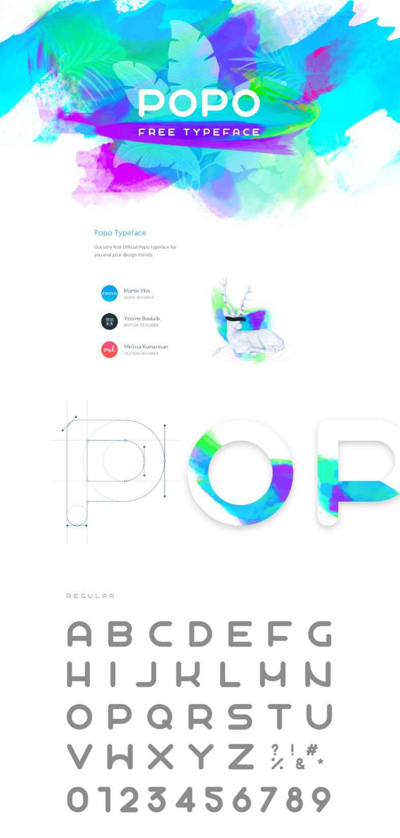 POPO Free Font - Free Design Resources
