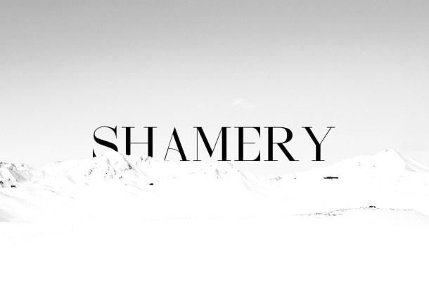Shamery Free Serif Font