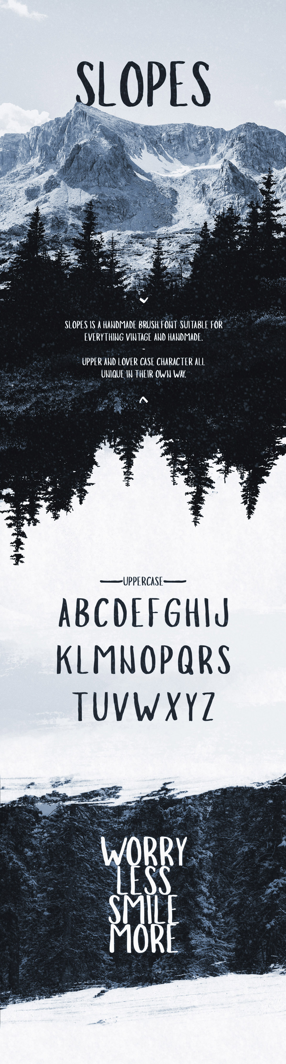 Slopes typeface