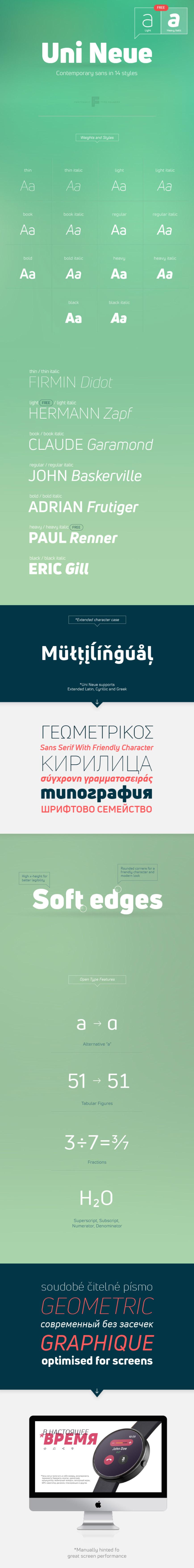 Uni Neue - Fontfabric