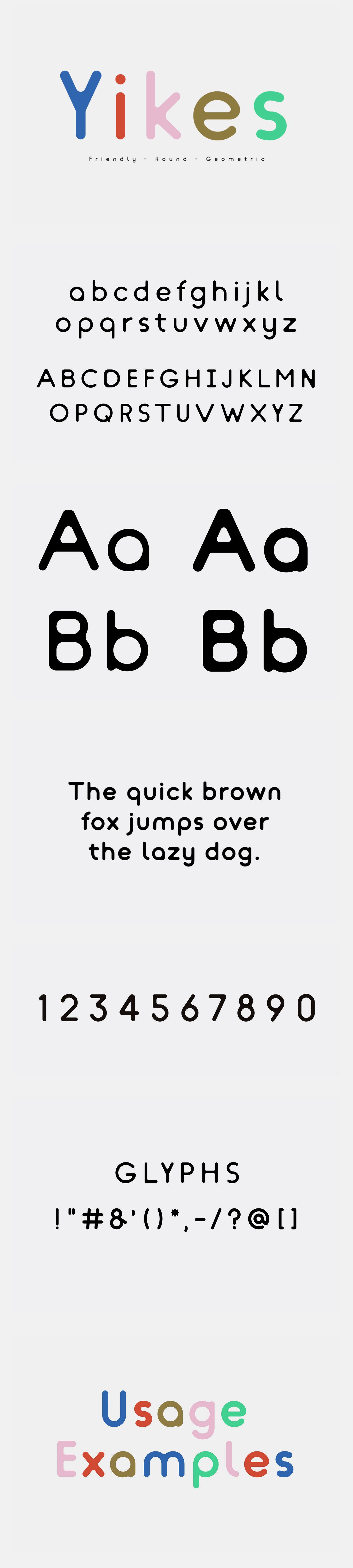 Yikes_ Typeface on Behance