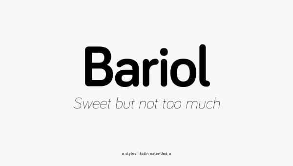 Bariol Free Font
