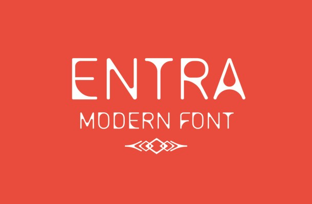 Entra Free Modern Font