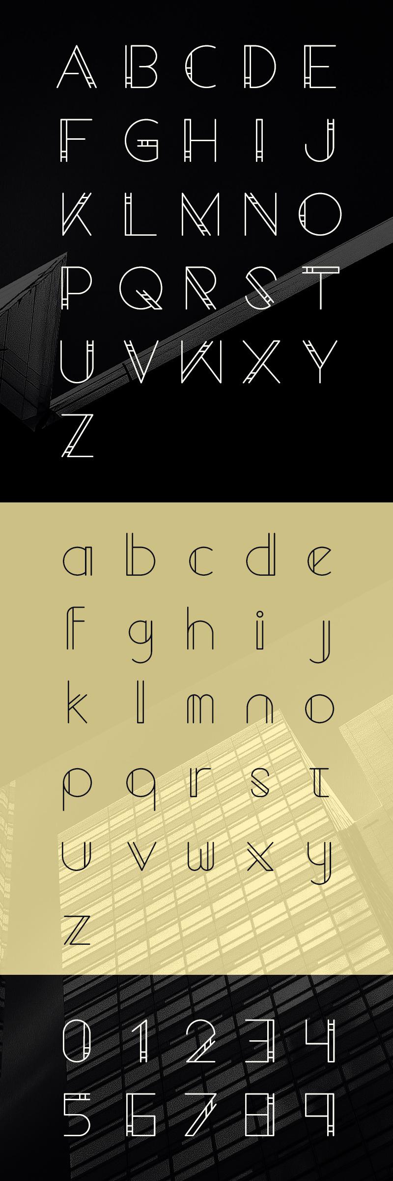 geometrico-font
