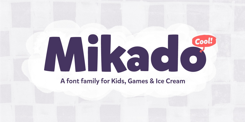 Mikado Font Free - Free Fonts