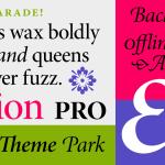 Minion Pro Font Family & Free Alternatives