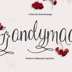 Grandymaa Free Calligraphy Font