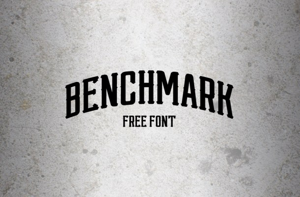 Benchmark Free Font