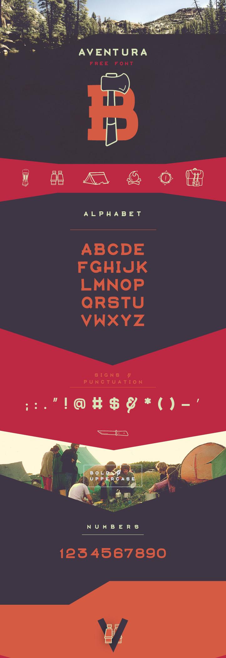AVENTURA - Free Typeface on Behance