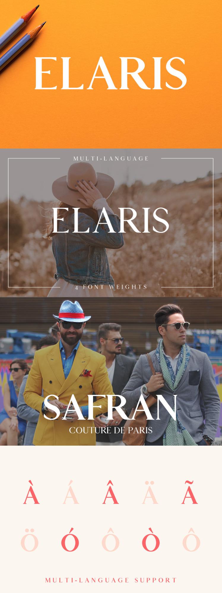 Elaris Serif Fre