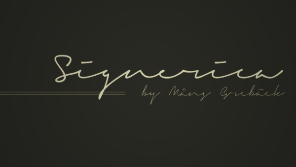 Signerica Free Font