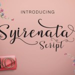 Syirenata Free Script Font