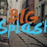 Big Splash Brush Font Free