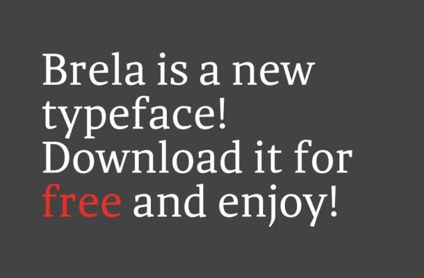 Brela Free Font