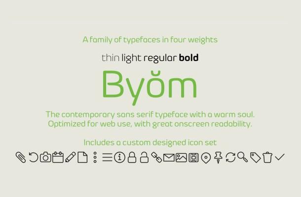 Byŏm Free Font