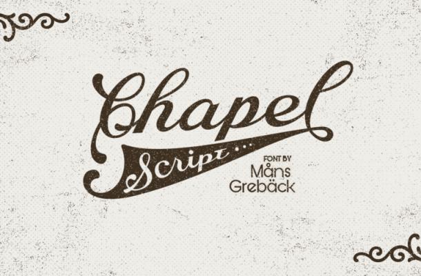 Chapel Script Free Font