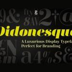 Didonesque Free Serif Font