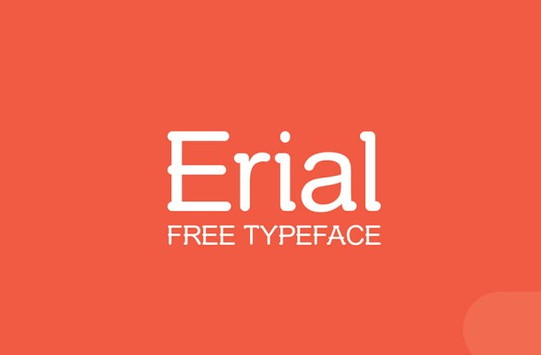 Erial Free Font