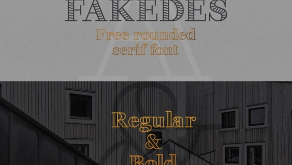 Fakedes Free Font