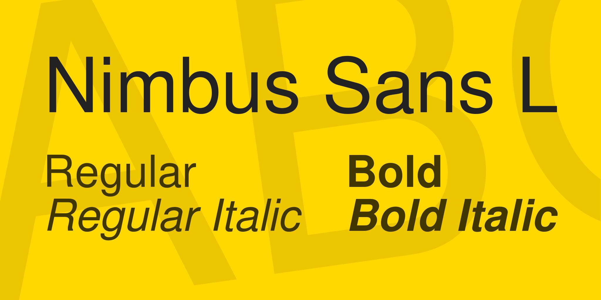 nimbus-sans-l-font-1-original