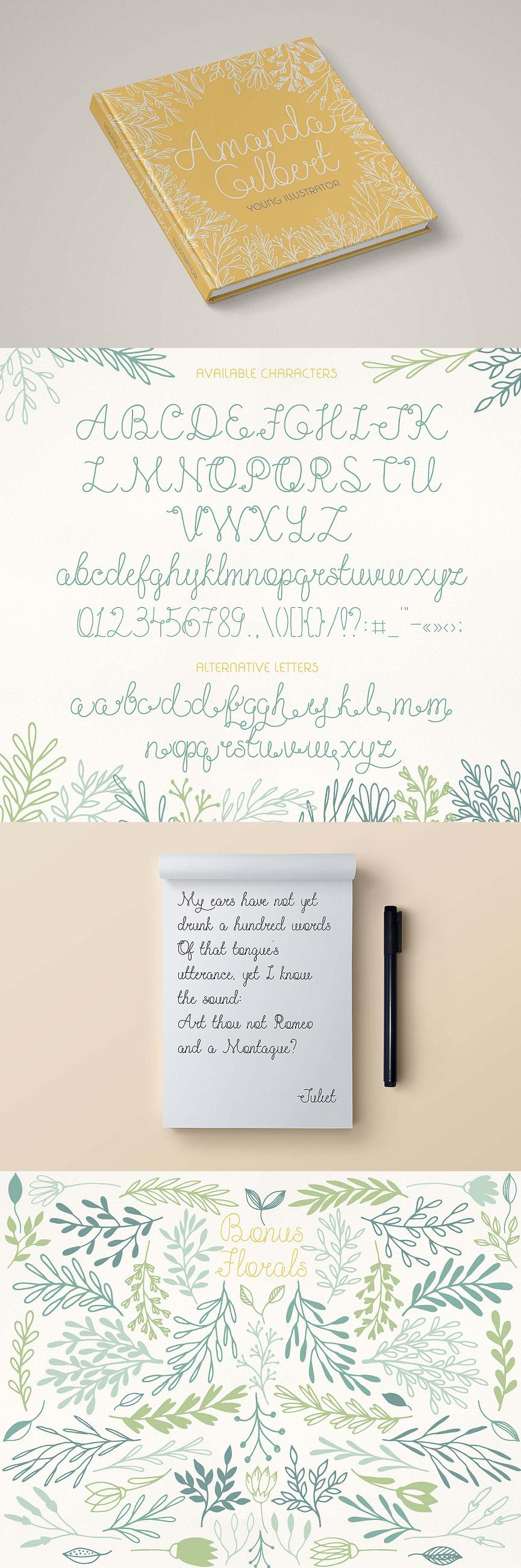olesia free font ft