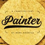 Painter Free Script Font