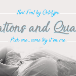 Sensations and Qualities Font Free