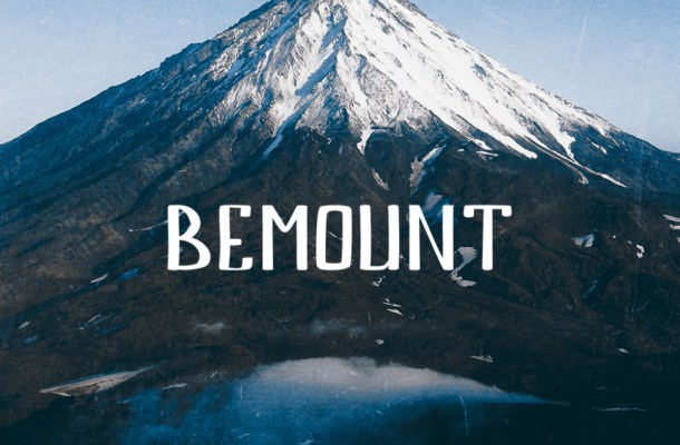 Bemount Handwritten Font