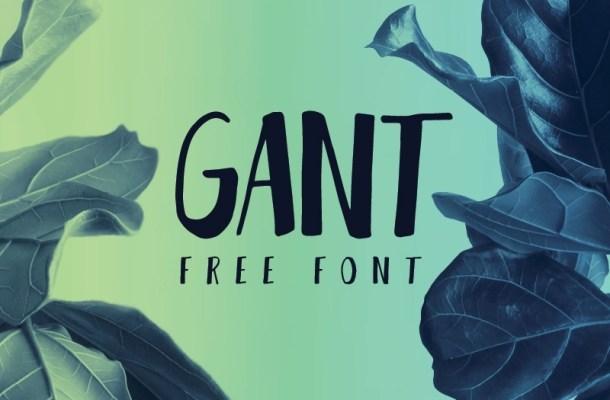 GANT Font Free