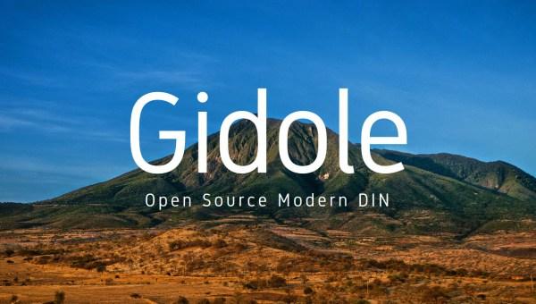 Gidole Font Free
