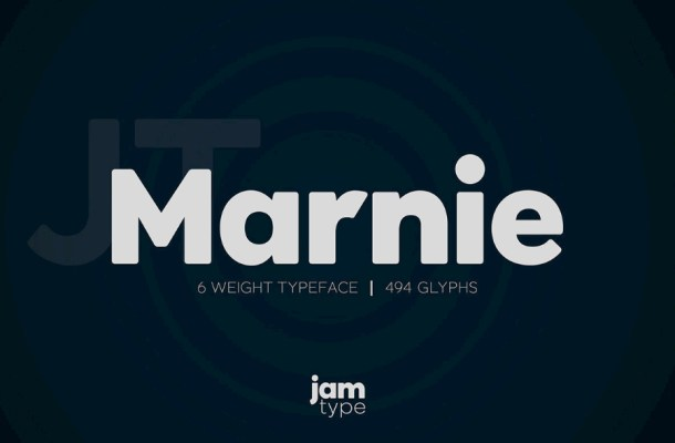 Marnie Typeface