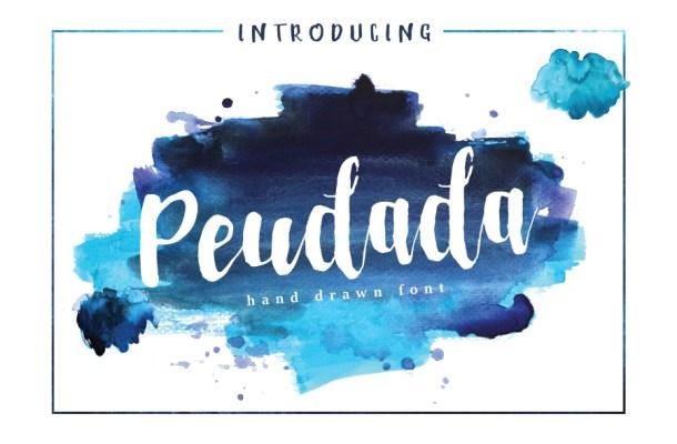 Peudada Hand Drawn Font