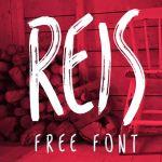 REIS Brush Font